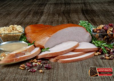 Natural Shaped, All-Natural Smoked Turkey Breast